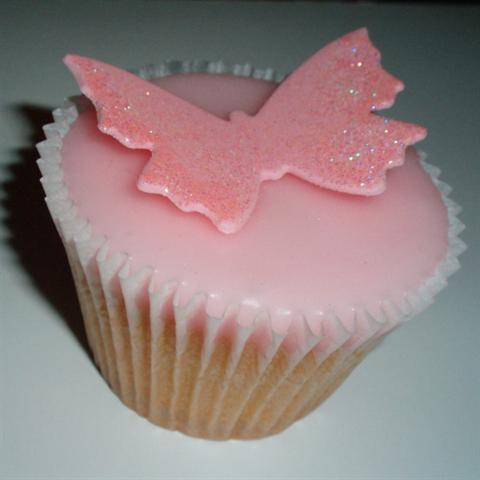 Butterfly Cake With Fondant Icing