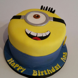 Minion Cake