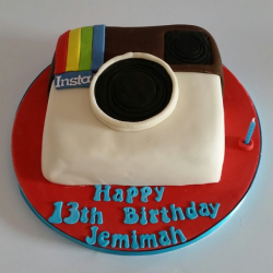 Instagram Cake
