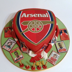 Arsenal Fan Cake