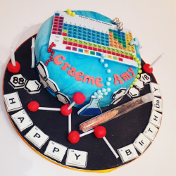 Chemistry Cake
