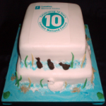 London Wetland Centre Concept Cake