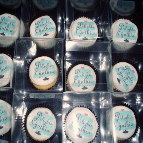 Boxed Corporate Cupcakes